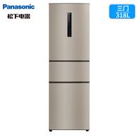 Panasonic 松下 318升 风冷无霜 变频冰箱NR-C33PX3-NL