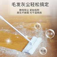 团购同款、280天耗材:日本 inwejia 静电除尘拖把套装