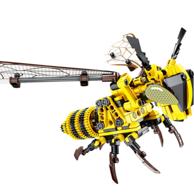 汇奇宝 昆虫系列 大黄蜂 积木玩具