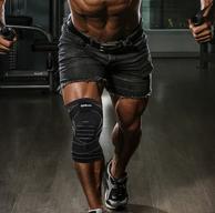 降5元 彈力加壓+硅膠防滑:美國Wilson 威爾勝 男女款運動護膝