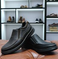 限US7.5码、亚马逊最畅销:Clarks 其乐 男士 一脚蹬 真皮休闲鞋