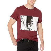 尺码齐全,Calvin Klein Jeans Hd Squared 男士T恤