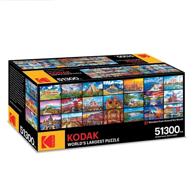 共51300 块:Kodak 柯达 世界上最大的拼图