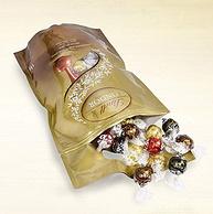 2件 Lindt瑞士莲 81颗 混合口味 巧克力球1000g