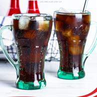 可口可乐正版授权,Libbey 利比 无铅 玻璃杯429ml