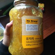 韩国进口 No Brand 蜂蜜柚子茶 2000克x2桶