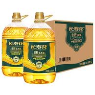 非转基因、一级压榨:长寿花 金胚玉米油 3.68Lx2瓶