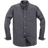 月销1.5万件!立体+不缩水+不褪色,凡客成品 牛津纺衬衫
