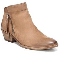 Sam Edelman 女士Packer真皮粗跟短靴 F3071L