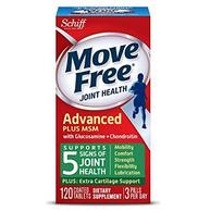 Move Free Schiff 维骨力MSM款 绿瓶 120粒