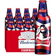 限地区:2件 电音铝瓶限量版,百威啤酒 355mlx24瓶