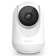 支持夜视+双向通话:360 D806 1080P 云台摄像头