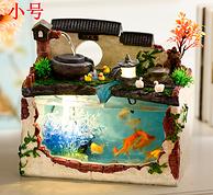 4.9分:西韵雾语 假山流水喷泉鱼缸