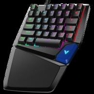 物理吃鸡外挂,雷柏 V550 单手 机械键盘