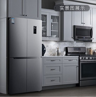 低于双11!TCL BCD-480WEPZ50 480升 十字对开门冰箱