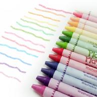 孩之宝旗下,培乐多 24色 可水洗大蜡笔