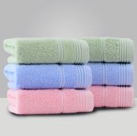 2件x6条 洁丽雅 97g 纯棉毛巾 72x34cm