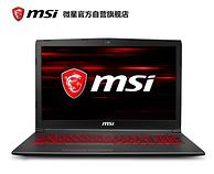 2小时结束:msi 微星 GL 15.6英寸游戏本 GL63 8RE-416CN 8089元包邮