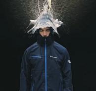 三層壓膠、可當雨衣!Amurcamp  男士專業級戶外沖鋒衣