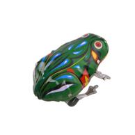 22日0点: 经典发条玩具 复古上链铁皮青蛙