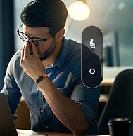 腾讯首款社交手环:Pacewear S8腾讯智能手环 2色