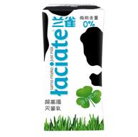 2件x12瓶 波兰原装 兰雀 脱脂纯牛奶200ml