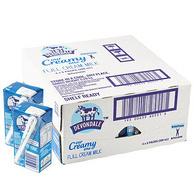 25日0点:2件 德运 全脂纯牛奶 200mlx24盒