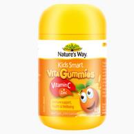 3件 Nature's way 佳思敏 儿童维生素C+锌 软糖60粒