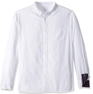 限S码:Calvin Klein 男士 长袖衬衫