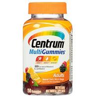 一天1粒,Centrum善存 MultiGummies 复合维生素软糖 150粒