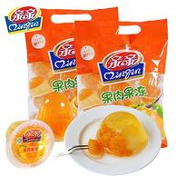 2件 亲亲 桔子果肉 果冻450gx2袋