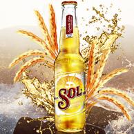 喜力旗下 SOL 苏尔 墨西哥风味 啤酒330mlx24瓶