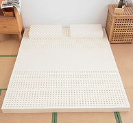 新低价!92%含量,泰国原装进口,Nittaya妮泰雅 天然乳胶床垫 厚5cm 1.8*2m