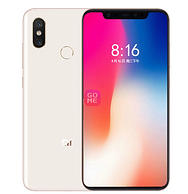 6.21寸+骁龙845+QC4.0:小米8 6+128g 手机