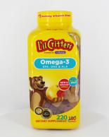 2瓶減10元!第98期回購團、220粒加量裝!美國 L'ilCritters 小熊糖魚油