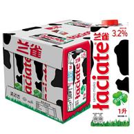 限广东广西:2件x12盒 波兰进口 兰雀 全脂纯牛奶 1L