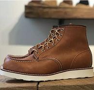 限US8/9码,Red Wing美产红翼 男士经典 875 6寸系带短靴