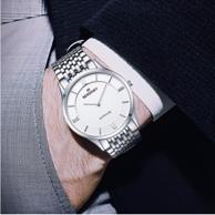 男女多款可选:瑞士 BERSINEY 波西尼 超薄情侣腕表