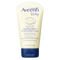24小时保湿、无添加:141gx2件 Aveeno 艾维诺 天然燕麦舒缓婴儿保湿霜