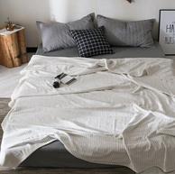 全棉可裸睡:150x200cm J.H.Longess 布之美 日式纯棉纱布空调被