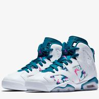 12日9点:Nike 耐克 Air Jordan 6 Retro 复刻大童运动童鞋