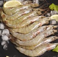 10点:国联 冷冻厄瓜多尔白虾 1.8kg 90-108只