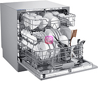 适合中国家庭,美的 台嵌两用全自动洗碗机 WQP8-3801-CN