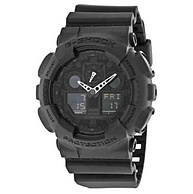 CASIO 卡西欧 G-Shock系列 GA100-1A1CR 男款双显运动腕表