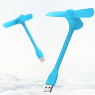 3档可调,ZMI 紫米 随身USB风扇