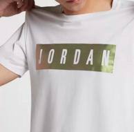 限尺码:Nike Air Jordan 男士 T恤