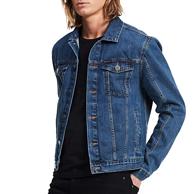 神价格24点结束!Calvin Klein 卡尔文·克莱恩 男式 牛仔夹克