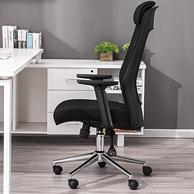 头枕扶手可升降:联丰 DS-180A 人体工学电脑椅
