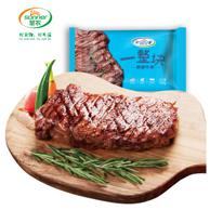 值哭,新西兰整切原肉:圣农 黑椒牛排套餐 1.5kg/10片装