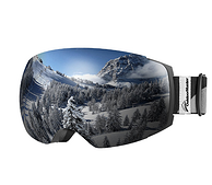 OutdoorMaster 无框户外滑雪防护镜